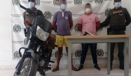 Dos personas fueron capturadas por el hurto de un celular en Riohacha
