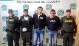 Capturados por hurto de celulares en Sogamoso