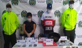 Capturamos dos personas por tráfico local de estupefacientes en Riohacha