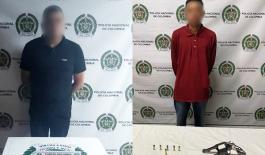 Capturados por el delito de homicidio en flagrancia y por orden judicial