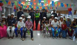 POLICÍA REALIZA RECONOCIMIENTO EN EL DIA MUNDIAL DE PERSONAS CON DEABETES