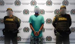 Ciudadano capturado en flagrancia por el delito de lesiones personales