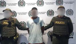 Ciudadano capturado por el delito de lesiones personales