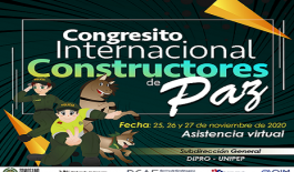 Congresito Internacional Constructores de Paz.