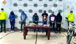 Desarticulamos grupo de delincuencia común en Chiquinquirá,