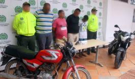Capturados-integrantes-de-banda-dedicada-al-hurto-de-motocicletas