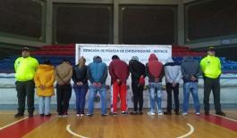 Golpe al tráfico de estupefacientes en Chiquinquirá