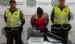 El olfato de Elro permitió la captura de la mujer con la droga