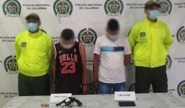 Entre los capturados se encuentra alias 'Tribilín' presunto sicario de una organización criminal.
