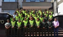 Primera junta de comandantes y distritos de Policía en Mocoa
