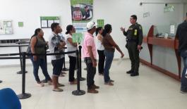 En el sur del Departamento de Bolivar, Policia adelanta campañas preventivas en contra del fleteo