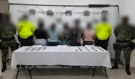 Cuatro mujeres y un hombre fueron capturados durante operativo policial