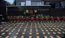 Hallados 540 kilos de marihuana tipo cripy al interior de bultos de papa