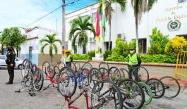 Desarrollamos planes, controles y campañas en el marco de la ofensiva contra el hurto de bicicletas