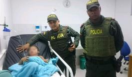 salvamos a un niño en Urabá