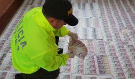 Desmantelada red de falsificadores de moneda nacional y extranjera