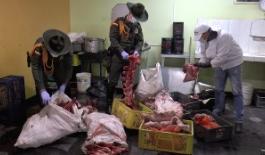 Policía ubicó negocio clandestino de expendió de carnes