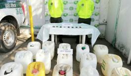 Incautados más de trescientos litros de licor adulterado en el municipio de Tibú