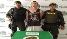 Incautación de marihuana en Armenia.