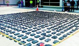 Incautados 604 kilos de cocaína en el departamento del Magdalena