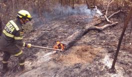 La Policía Nacional en Santander lidera campaña contra incendios forestales