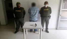 Capturamos a un sujeto por el delito de porte ilegal de armas de fuego