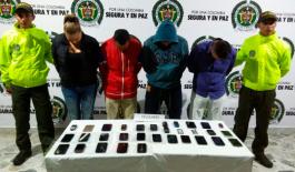 Operación transnacional 'Alianza ll' contra el hurto de celulares: 656 capturas