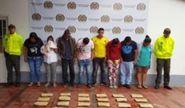 Las capturas se dieron gracias a la sinergia institucional entre la Policía Nacional y el CTI de la Fiscalía