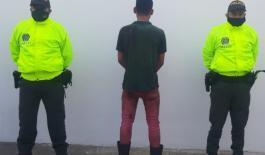 Policía capturó un hombre mediante orden judicial por hurto calificado en Acacías - Meta