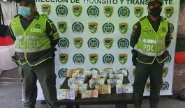 Policía incautó $575.000.000 de pesos transportados en un camión en Acacías - Meta