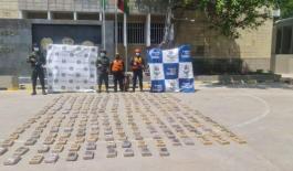 Frustramos el envío de 250 kilos de clorhidrato de cocaína a Honduras