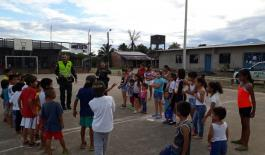 La Policía del Putumayo le pone sabor y ritmo a los problemas sociales atreves de zumba.