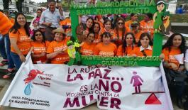 En el marco de la estrategia mujer, familia y género realizamos campaña en Pasto