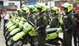 Nuevo grupo de reacción inmediata contra el hurto y el microtráfico en Itagüí