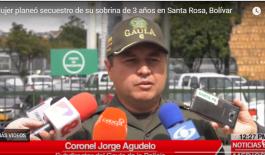 En menos de 24 horas el GAULA de la Policía logro recapturar a secuestradores