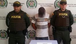 Los capturados presentan antecedentes judiciales