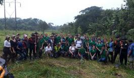 Vinculamos a la comunidad en actividades de protección ambiental