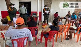 Taller sobre prevención colectiva y anticipación de violencia en las zonas rurales.