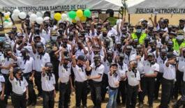 Candelaria tiene la Policía Cívica Infantil y Juvenil más grande de Colombia