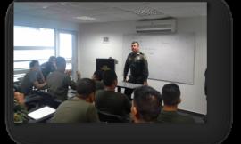 Clases Escuela de Aviación Policial