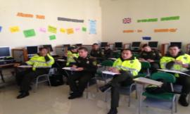 Clase-Escuela de Policía Rafael Reyes