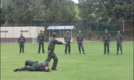 Entrenamiento Escuela de Policía Rafael Reyes