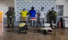 Tres capturados por delitos contra los recursos naturales en Cértegui Chocó