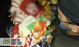 Patrulla del cuadrante atendió parto en vía pública en el barrio Andalucía de Medellín