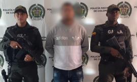 Capturado presunto cabecilla del grupo delincuencial común organizado 'carpinelo'