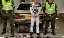 Capturado por el delito de trafico fabricación o porte de estupefacientes