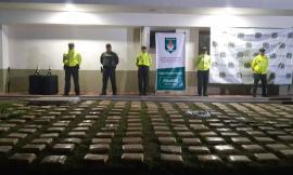 Incautamos 253 paquetes de marihuana