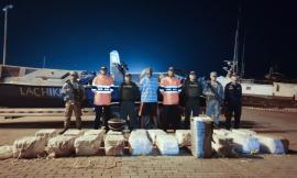 Armada de Colombia, Policía Nacional y Fuerza Aérea propinan contundente golpe al narcotráfico en el Departamento Archipiélago