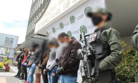 """Desarticulado grupo delincuencial """"los guateque"""" dedicados a la extorsión."""