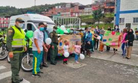 La Policía en Manizales celebró el día de la familia